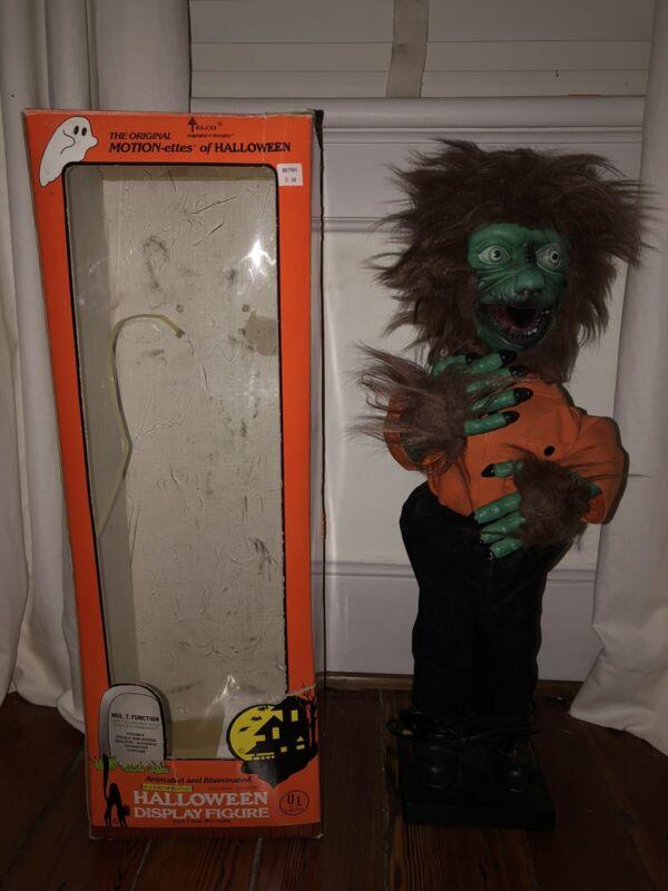 Telco Halloween Animated Beastman/Wolfman Motionette