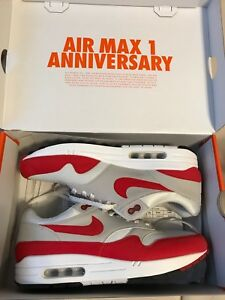 Air max 1 anniversary og red