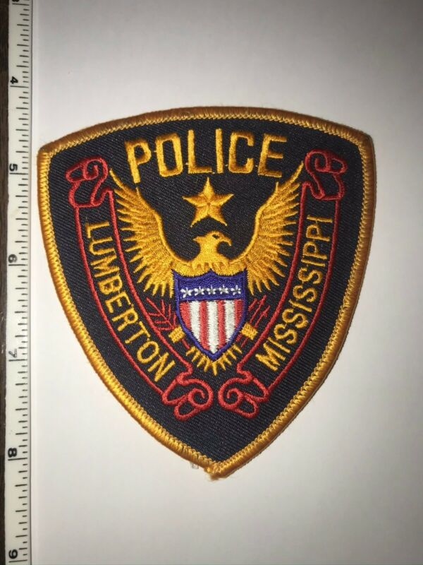 Lumberton Mississippi Police Patch New