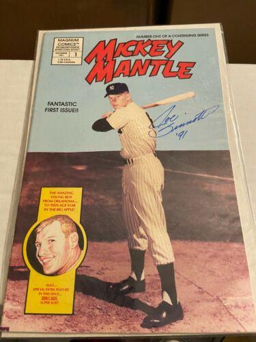 Mickey Mantle Comics #1 (Magnum 1991), Signed by Joe Sinnott, VF Condition