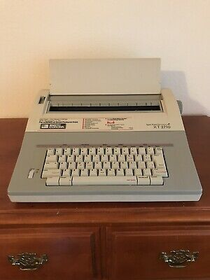 Smith Corona Xt 2710 Word Processor Electric Typewriter Wcover