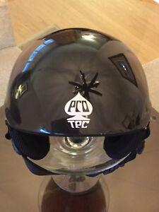 ProTec Snowboard Ace Snow FR Skiing Helmet Hat Cap black Size M