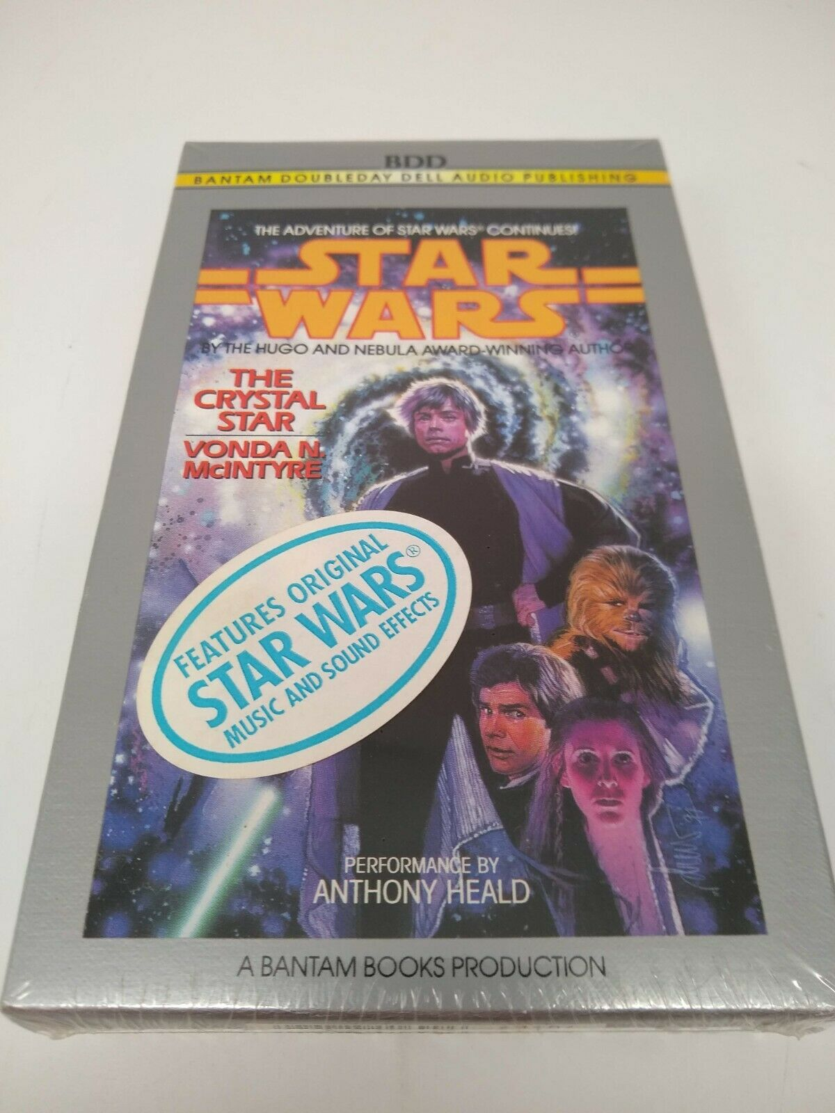 Star Wars Cassette Tape Audio Book The Crystal Star - Factory Sealed