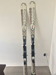 Solomon titanium Xwing skis 173 cm with z10 bindings