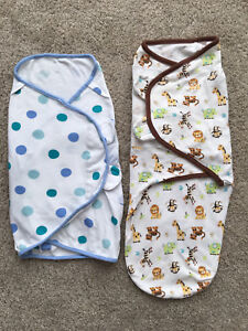 Baby Swaddle Blankets with Velcro.