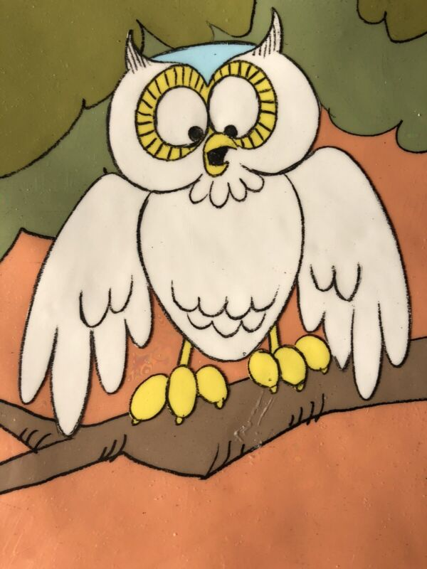 HOOT OWL Animation Cel