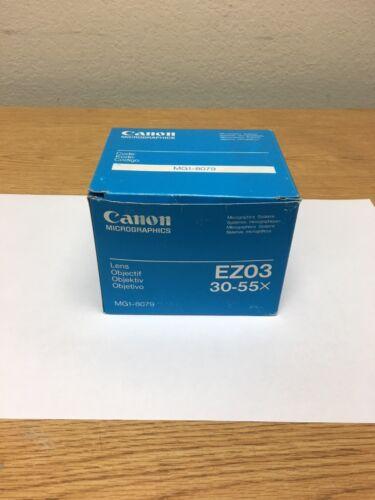 CANON MICROGRAPHICS ZOOM  LENS EZ03  MG1-8079