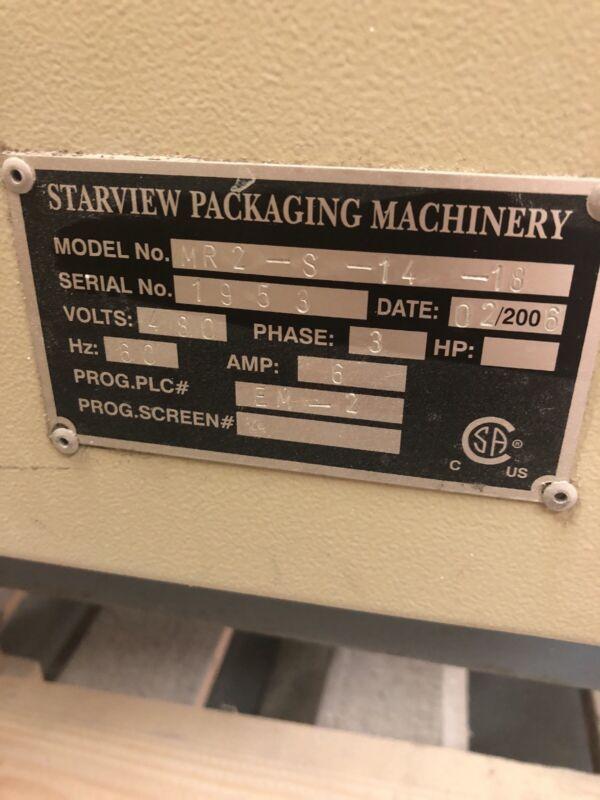 Starview MR2-1418 Blister Sealer Sealing Machine