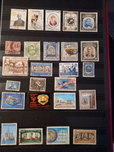 Südamerika Kolumbien Lot Posten Sammlung ( 21 )