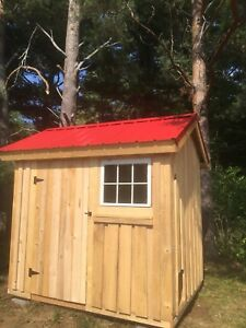 New 6x8 Shed