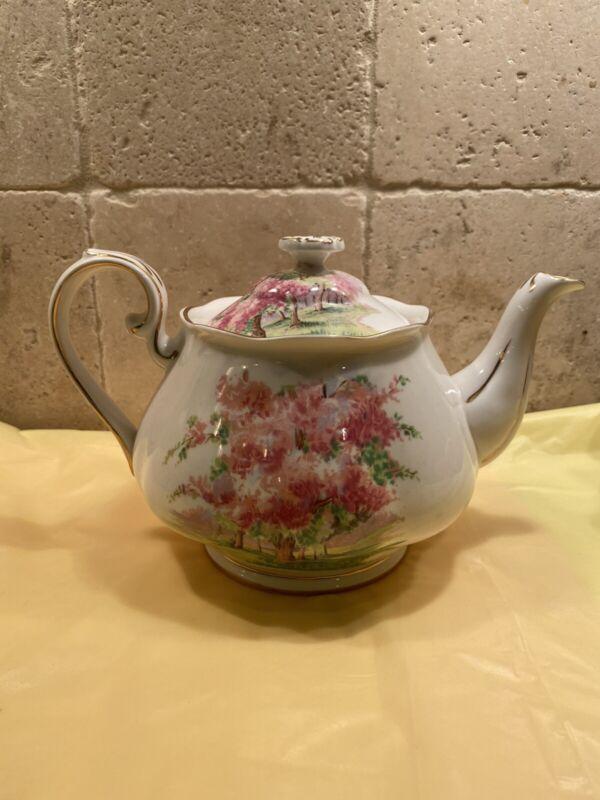 Royal Albert Blossom Time Large 4 Cups Size Teapot Bone China England