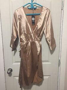 Beautiful satin plus size dress - uk fashion NWT