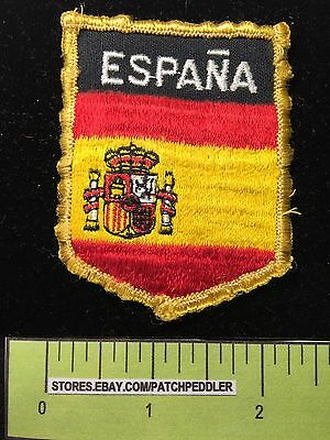 ESPANA SPAIN HERALDRY COAT OF ARMS Jacket Patch Souvenir Collectible ~ 5DB4