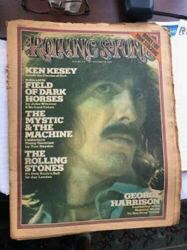 Rolling Stone Magazine George Harrison The Beatles Dec 19,1974 Issue 176 VG Cond