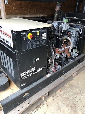 Kohler Electric Generator 50 Kw 120240 Phase