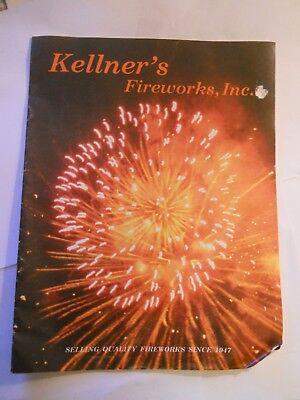 1986 KELLNER'S FIREWORKS Catalog, SENCA, PA.