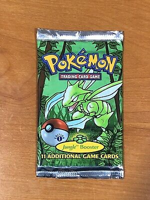 Pokemon Jungle 1st edition booster pack (1) Unweighed