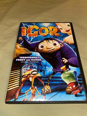 Igor DVD Full & Widescreen Kids Family Movie John Cleese Steve Buscemi Cusack8