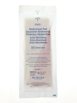 Medline Sterile Extra Absorbent Abdominal Pad  8  X 10   Case Of 360   Non21454