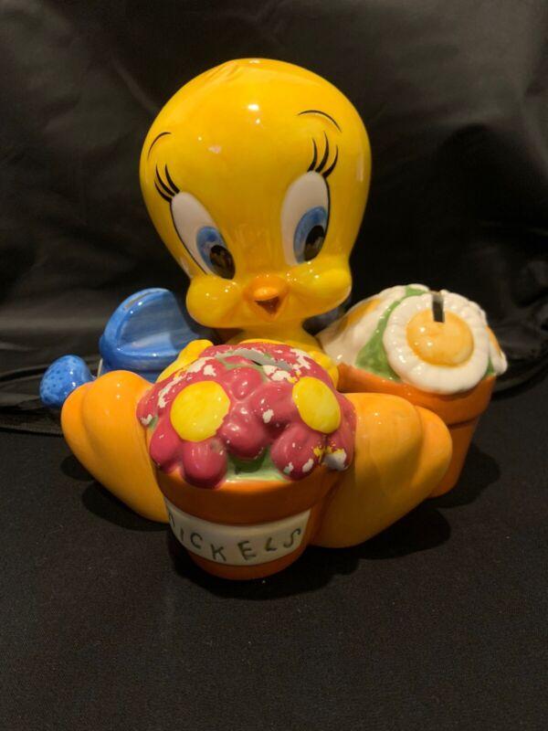 Vintage 1999 Looney Tunes Tweety Bird Sorted Coin Bank Warner Brothers