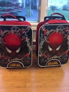 2-Spider-Man suitcases