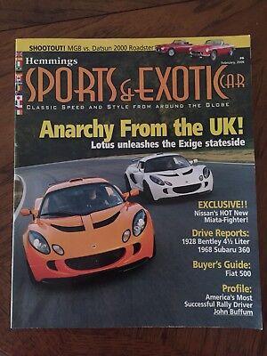Hemmings Sports   Exotic Car Magazine   February 2006 Volume 1  Issue 6