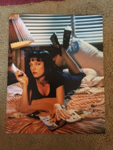 Uma Thurman Pulp Fiction Color 8x10 Photo