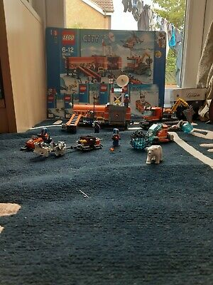 LEGO CITY 60036 ARCTIC BASE CAMP SOME PIECES MISSING BUT MAJORITY THERE
