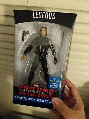 Captain America Winter Soldier Marvel Legends Walmart Exclusive