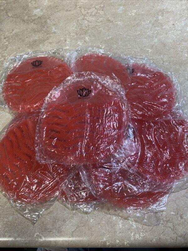 New 12 Pack Urinal Screen Cherry Fragranced Deodorizing