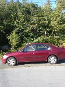 2003 Honda Civic 4 door - new MVI
