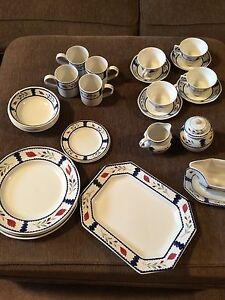 "Set of 4 Adams ""Lancaster"" dishes Windsor Region Ontario image 2"
