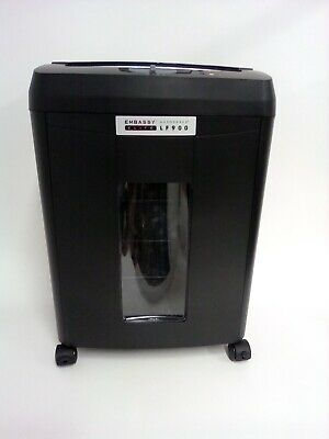 Embassy Elite 9-sheet Microcut Paper Shredder With 90-sheet Auto Feed Defect