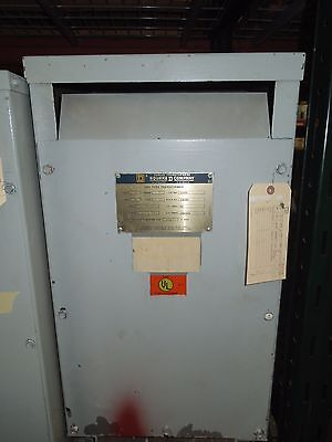 Sorgelsquare D 25kva 600-120240v 1ph Dry Type Transformer Used Electrically Ok