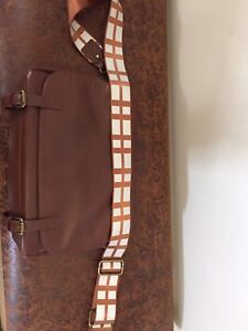 Gently used star wars chewbacca messenger bag