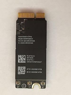 "((New Apple WIFI CARD)) 13"" Macbook Pro  MID 2014 ((BCM94360CS)) 653-0029 -A1502"