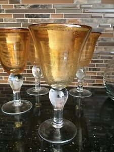 Pier 1 wine glasses