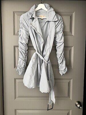 Michael Kors Women's Trench Anorak Coat Jacket Size 6