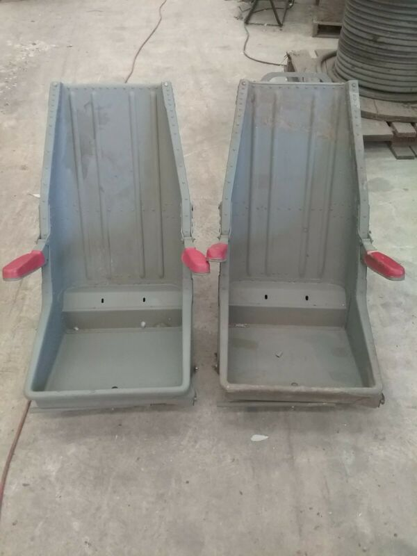 Vintage Military Helicopter Seats