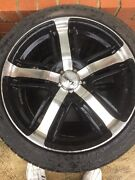 Avanti wheels also comes with spare tyres  Braybrook Maribyrnong Area Preview