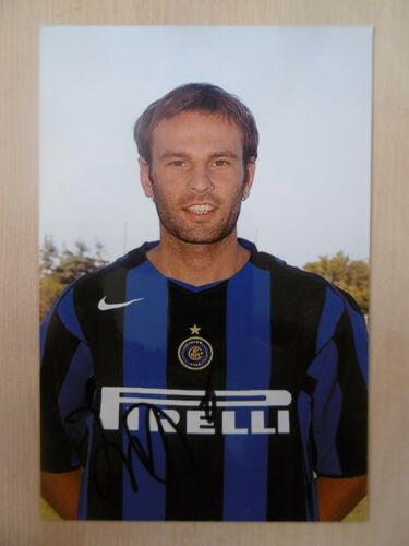 """Cristiano Zanetti """"Inter"""" Autogramm signed 10x15 cm Bild"""