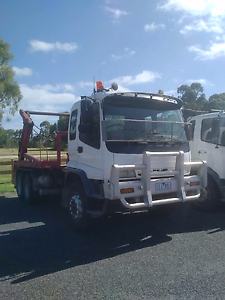 Isuzu FVZ skip bin truck, chain lift, morell loader hook Mordialloc Kingston Area Preview