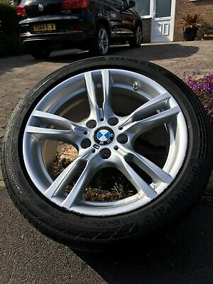 "Genuine BMW 400M 18"" Alloy Wheel WITH TPMS (Rear Wheel 7845881)"