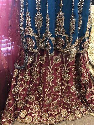 STITCHED PARTY LEHENGA CHOLI WEDDING FANCY READY TO WEAR DRESS PAKISTANI -