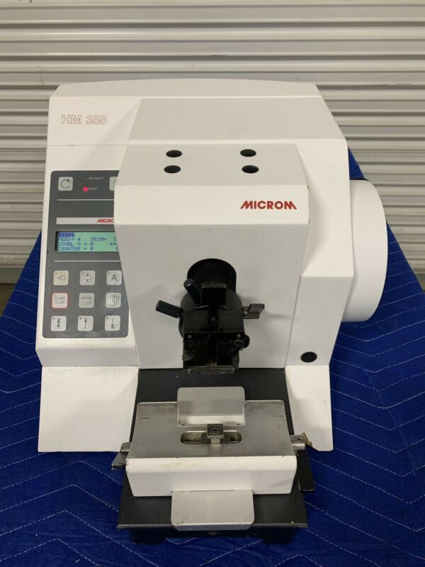 Microm HM 355 Microtome  - Cat. No. 905340