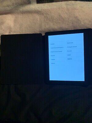 Amazon Kindle Oasis (8th Generation) 4GB, Wi-Fi, 6in - Black (walnut leather