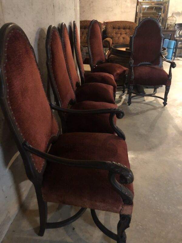 Antique Spanish Revival Chairs; RARE!