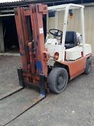 Nissan 2.5 Tonne Forklift - 4.3 meter lift Plenty Nillumbik Area Preview