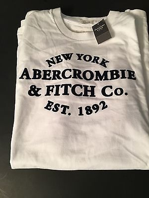 Abercrombie & Fitch New York T-Shirt  Large New White