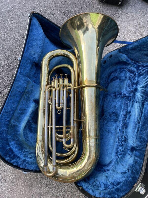 Yamaha Japan YBB-321 Four Valve Tuba W Case